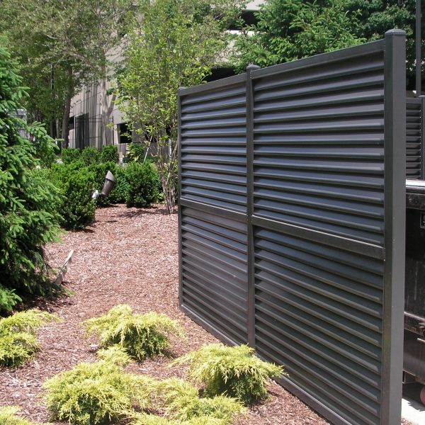 AmeriLouver® privacy panels in Dark Brown (PCTT20172)